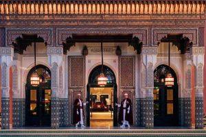 Entrada principal. Hotel La Mamounia de Marrakech. Los mejores hoteles del mundo en Tu Gran Viaje