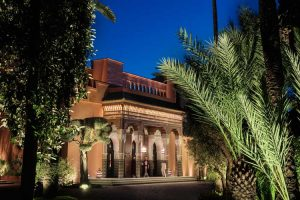 Entrada principal al hotel La Mamounia de Marrakech. Los mejores hoteles del mundo en Tu Gran Viaje