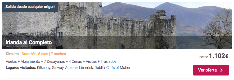 ofertas para viajar a Irlanda | Tu Gran Viaje