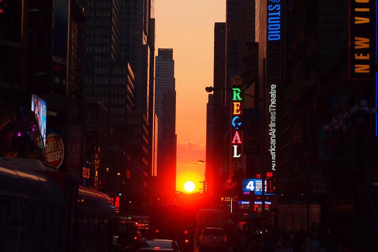 Dónde ver el Manhattanhenge de Nueva York | Tu Gran Viaje revista de viajes y turismo
