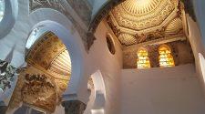 Interior de la Basílica de Santa María la Blanca, Toledo. © Tu Gran Viaje | Semana Sefarad de Toledo 2017 | Descubre Sefarad en Tu Gran Viaje