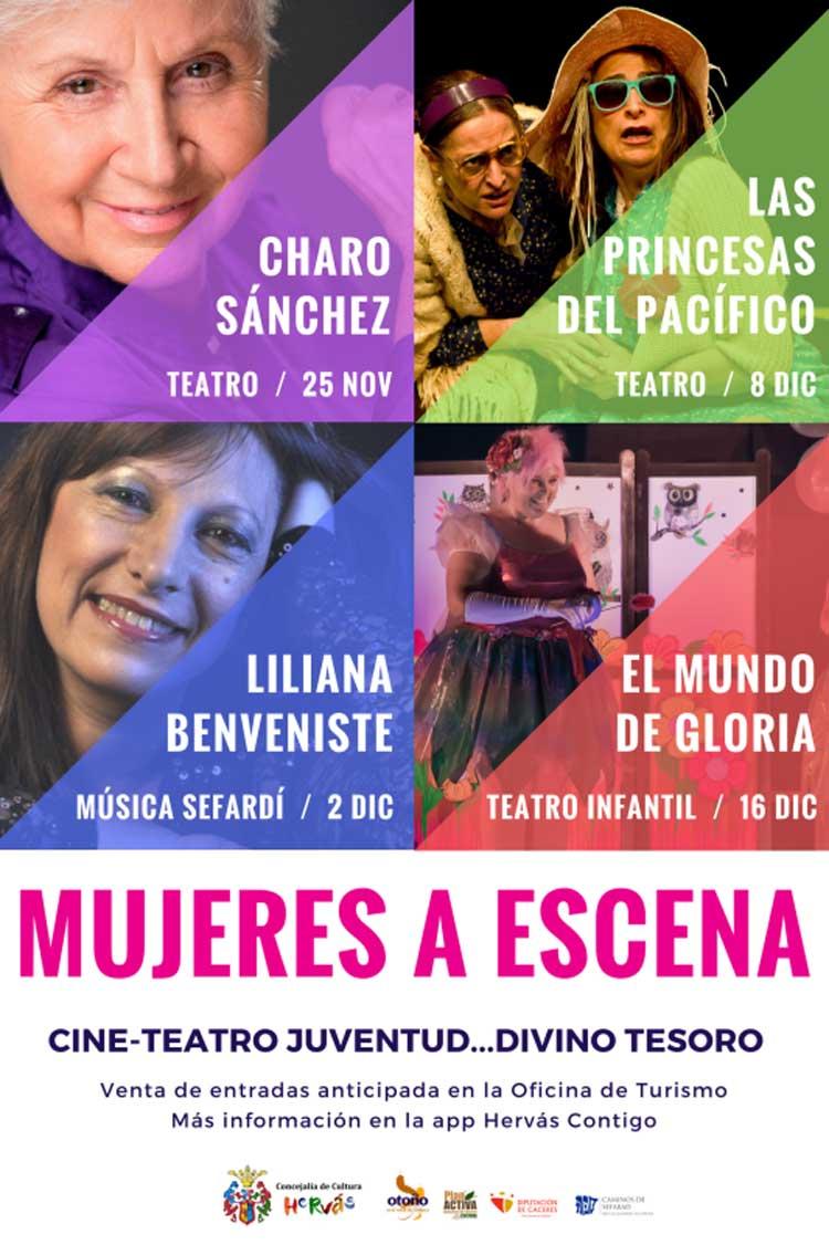Ciclo Mujeres a Escena en Hervás | Descubre Sefarad en Tu Gran Viaje