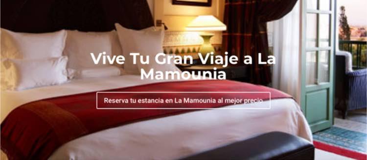Ofertas de La Mamounia en Tu Gran Viaje
