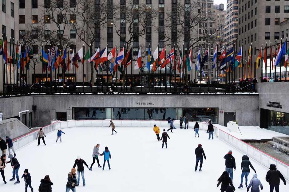 Patinar sobre hielo en el Rockefeller Center | Nochevieja en Nueva York | Tu Gran Viaje