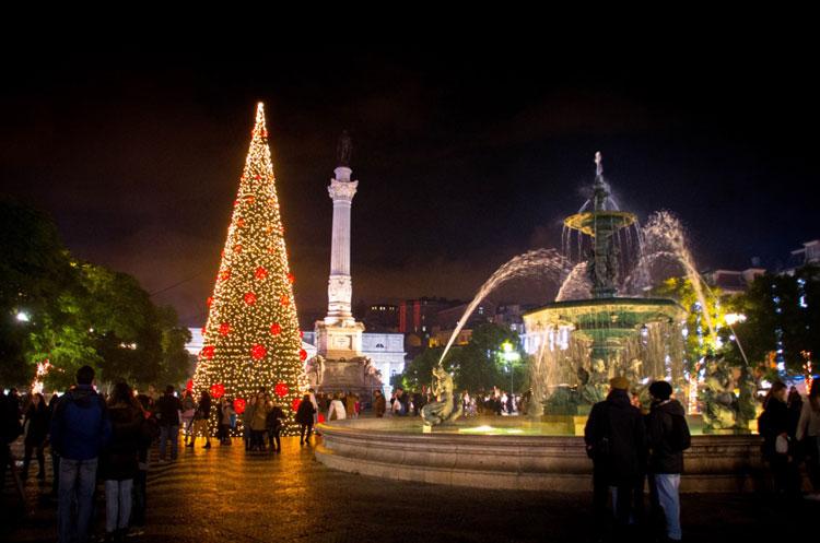Plaza del Rossio, Lisboa. © Visit Lisboa | Tu Gran Viaje de Navidad | Revista Tu Gran Viaje