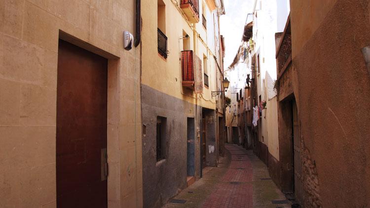 Callejuelas en el barrio de la judería de Calahorra. © Beatriz de Lucas Luengo – Red de Juderías de España