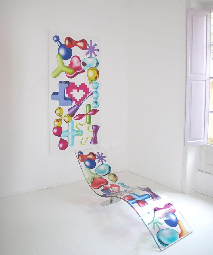 Marbella Design. 3D Ikons de Karim Rashid. Galería Leyendecker