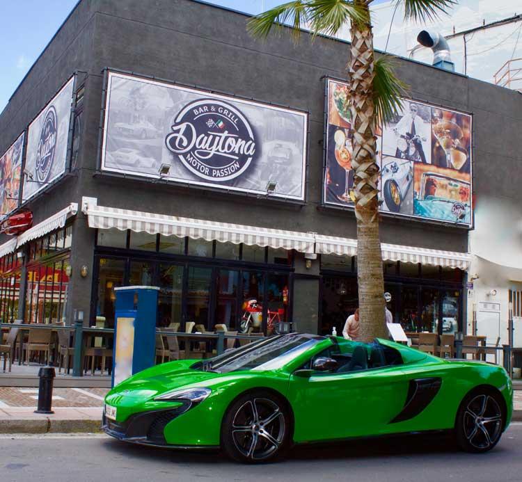 Marbella Design. McLaren Spider de Mario Guarnieri