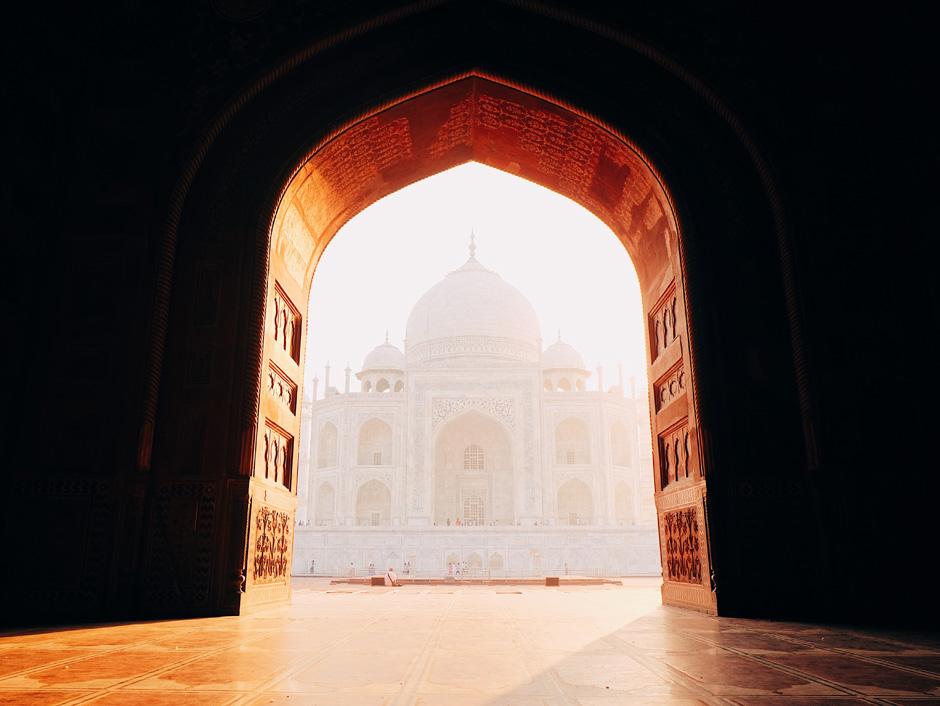 Postal desde el Taj Mahal | Tu Gran Viaje