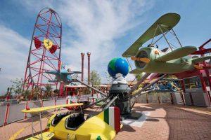 Así disfrutan los niños en Ferrari Land, la atracción de Port Aventura