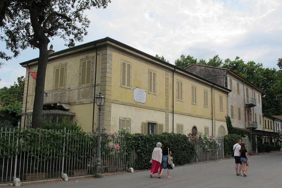 Villa Puccini en Torre del Lago. Foto CC 3.0 Sailti | Guía para viajar a la Toscana Italiana | Tu Gran Viaje