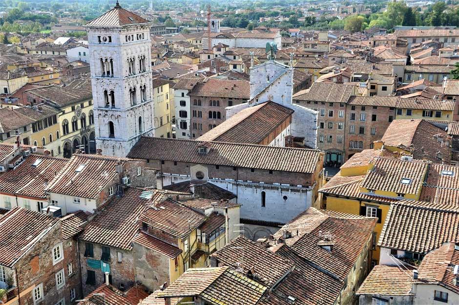 Panorámica de Lucca | guía para viajar a la toscana italiana | Tu Gran Viaje