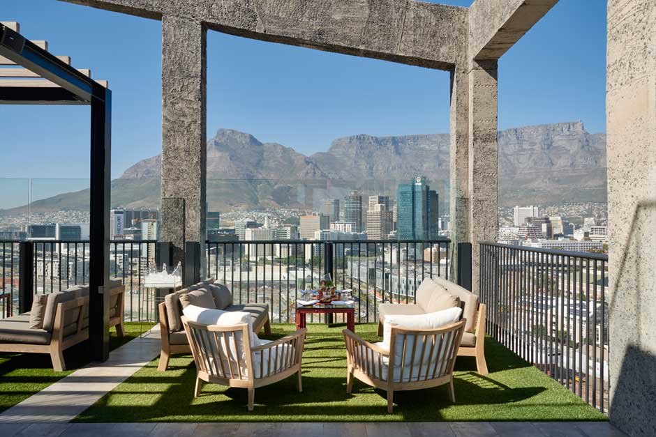 The Silo Rooftop | Los mejores rooftop bars de Ciudad del Calbo | Sudáfrica