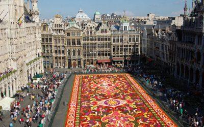 Guanajuato inspira la Alfombra Floral de Bruselas 2018