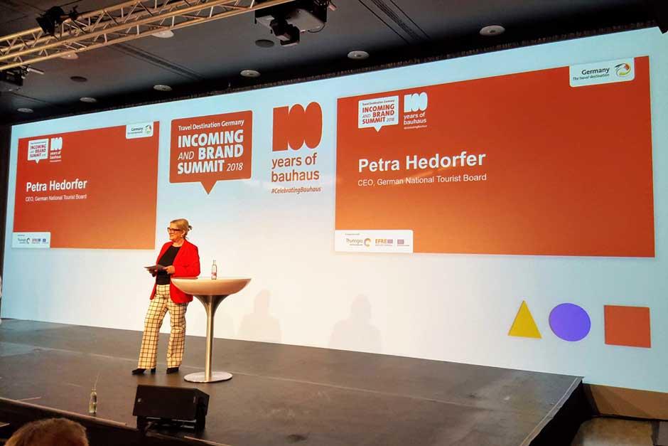 Petra Hedorfer, CEO de la Oficina Nacional Alemana de Turismo © Tu Gran Viaje