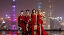 Cindy Crawford, Nicole Kidman Alessandra Ambrosio y Liu Shishi amadrinan en Shanghai la presentación mundial del nuevo reloj Constellation Manhattan