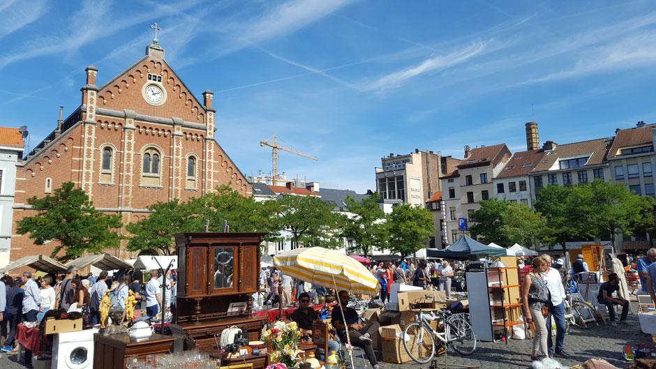 Mercado de las Pulgas de Bruselas | Tu Gran Viaje