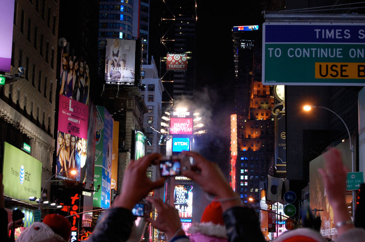 Nocheviaje en Times Square | Tu Gran Viaje