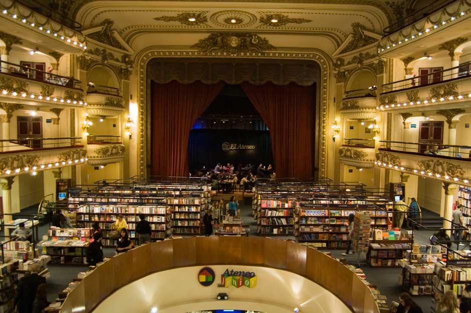 La librería Ateneo Grand Splendid de Buenos Aires ha sido nombrada la biblioteca más bonita del mundo por la revista National Geographic | Tu Gran Viaje