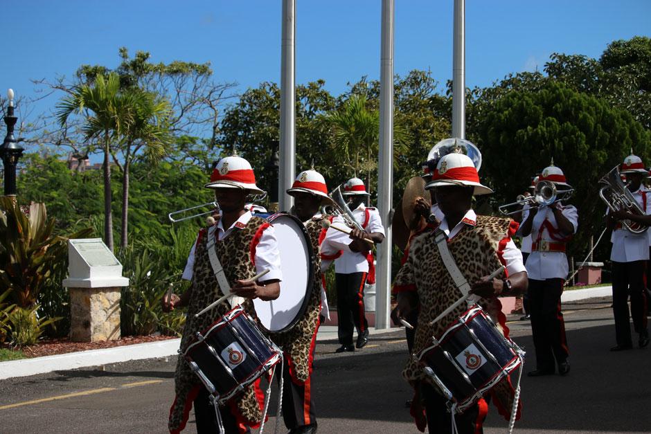 Relevo de la Guardia en Nassau. © Turismo de Bahamas | Tu Gran Viaje