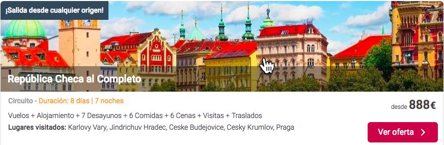 oferta viajes baratos turismo en la republica checa | Tu Gran Viaje