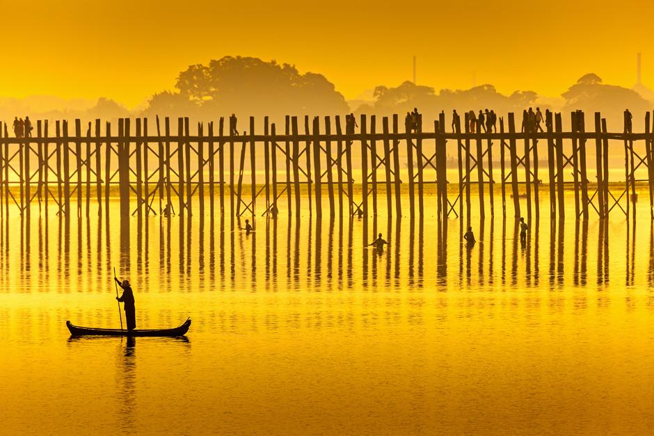 Postal desde el lago Taungthaman | Tu Gran Viaje