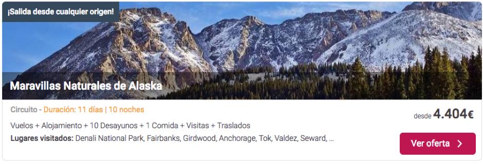ofertas viajar a Alaska | Tu Gran Viaje