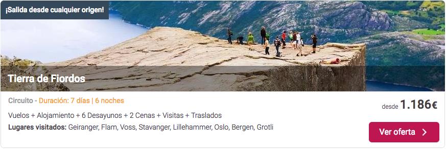 Oferta de viajes baratos a Noruega | Tu Gran Viaje