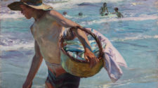 Joaquín Sorolla, Young Fisherman, Valencia, 1904 Oil on canvas, 75 × 104 cm Private Collection © Photo: Laura Cohen