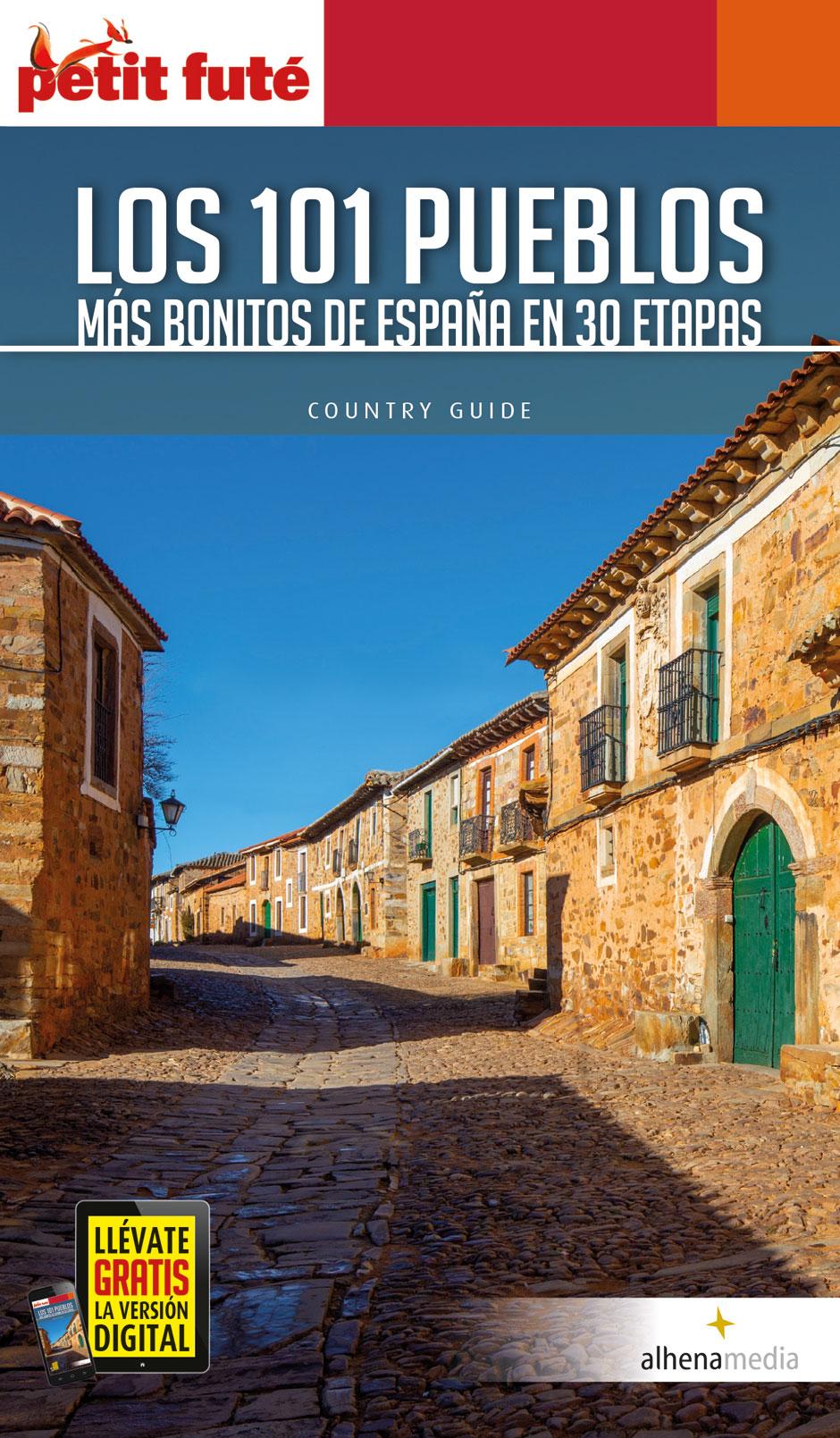 Libro Los 101 pueblos más bonitos de España Clemente Corona Alhena Media