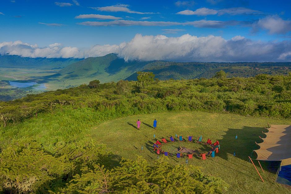 Pakulala Safari Camp sobre el cráter del Ngorongoro | Planes para viajar en Agosto | Tu Gran Viaje
