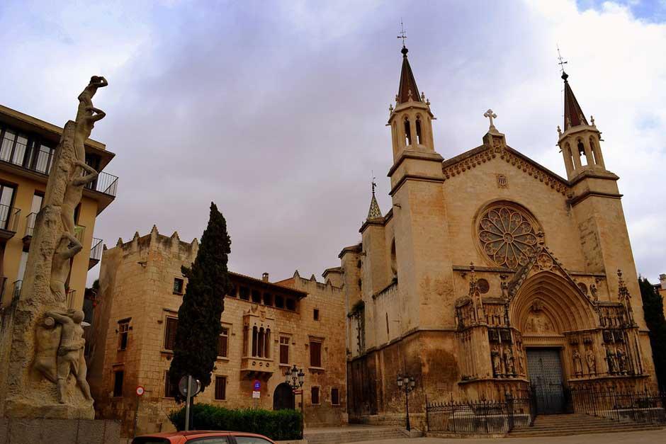 Plaça Jaume I, Vilafranca del Penedes