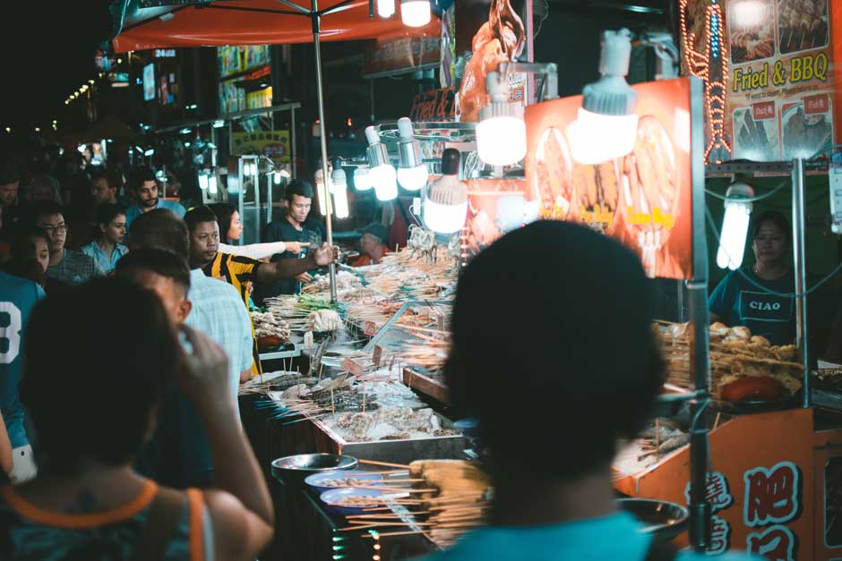 Jalan Alor Street Market, Kuala Lumpur. Foto de Job Savelsberg | Tu Gran Viaje