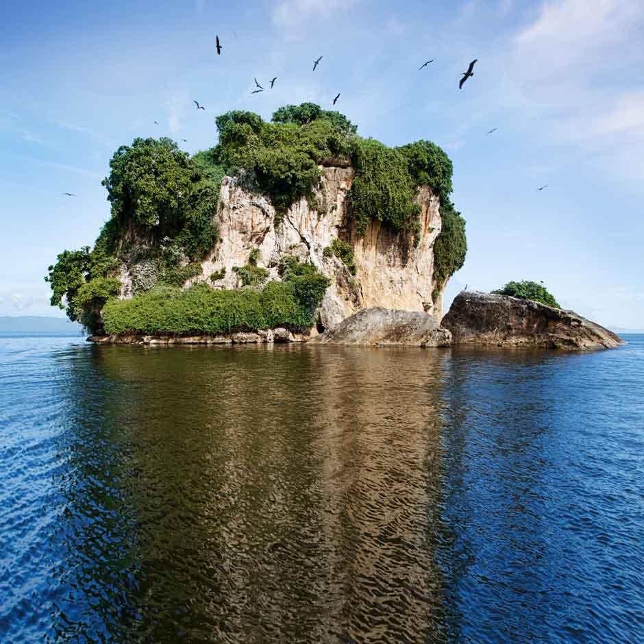 La península de Samaná, destino de moda de la República Dominicana, accesible durante todo el verano con los vuelos de Air Europa.