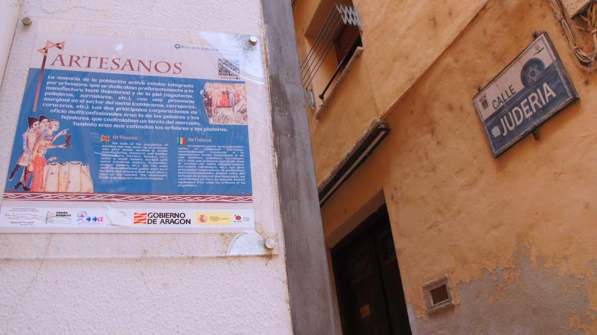 Calle de la Judería de Tarazona. Foto © Beatriz Luengo / Red de Juderías de España