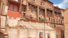 Casas colgadas en la Judería de Tarazona. Foto © Beatriz Luengo / Red de Juderías de España