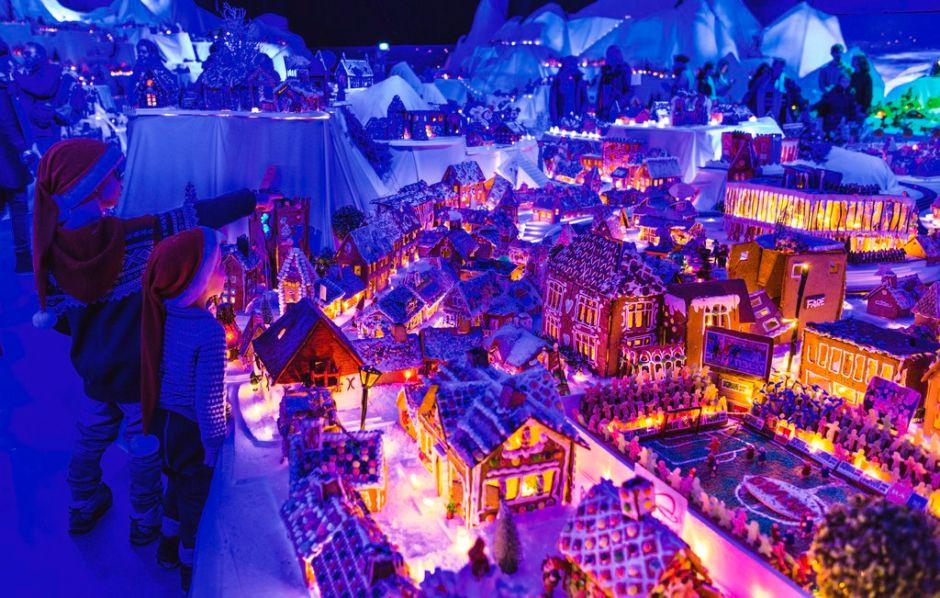 Pepperkakebyen en Bergen, donde la Navidad huele (¡y sabe!) a genjibre