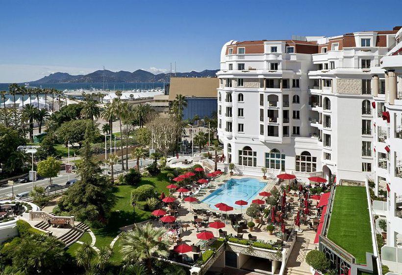 La Croisette de Cannes, vista desde el hotel Majestic   Tu Gran Viaje