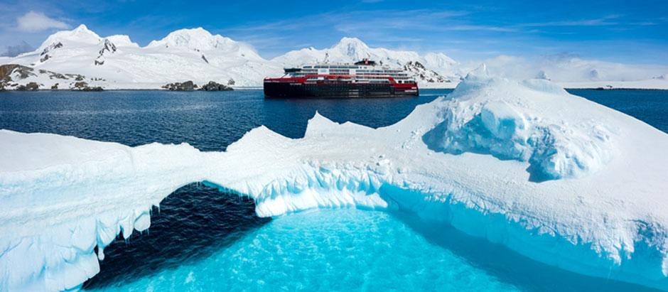 Guía de cruceros de lujo en Tu Gran Viaje | El MS Ronald Amundsen por la Antártida