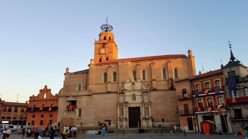 Colegiata de Medina del Campo. Foto © Tu Gran Viaje a la Ruta del Vino de Rueda