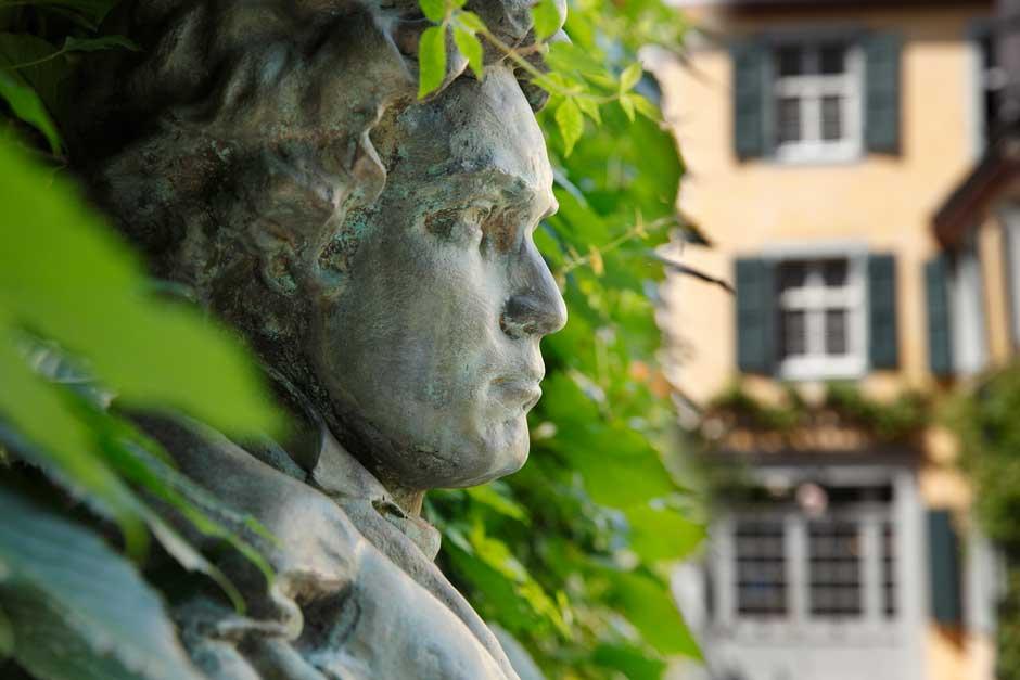 Jardín de la Casa de Beethoven en Bonn © Sonja Werner | Discover Beethoven | Tu Gran Viaje