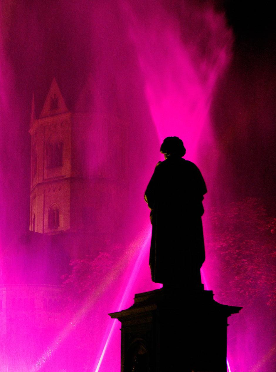 Estatua en Lichtspiel Foto © Michael Sondermann | Discover Beethoven | Tu Gran Viaje