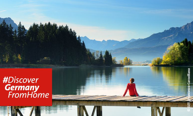Imagen de la campaña #DiscoverGermanyFromHome | Tu Gran Viaje