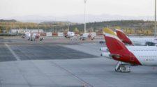 La red de Aena guarda ya cerca de 800 aeronaves estacionadas por el parón de actividad. Casi una cuarta parte se concentra sólo en el de Madrid-Barajas.