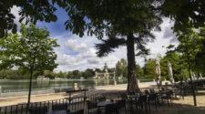 El recinto se ha visto favorecido por ausencia de sus miles de visitantes por sus zonas verdes y por un mes especialmente lluvioso.
