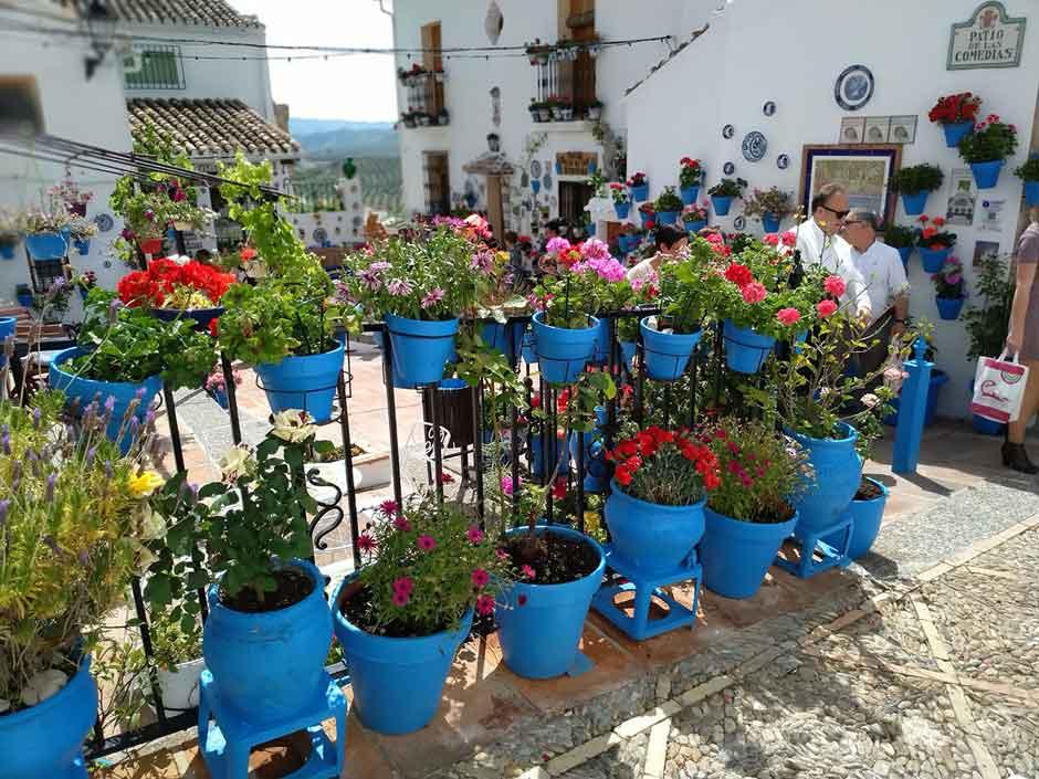 El Festival de los Balcones y Rincones de Iznájar, desde casa