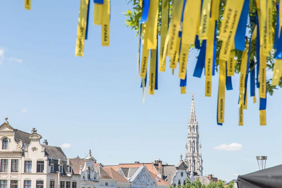 El Árbol de la Esperanza, una declaración del amor de Bélgica del viajar por Europa | tu Gran Viaje