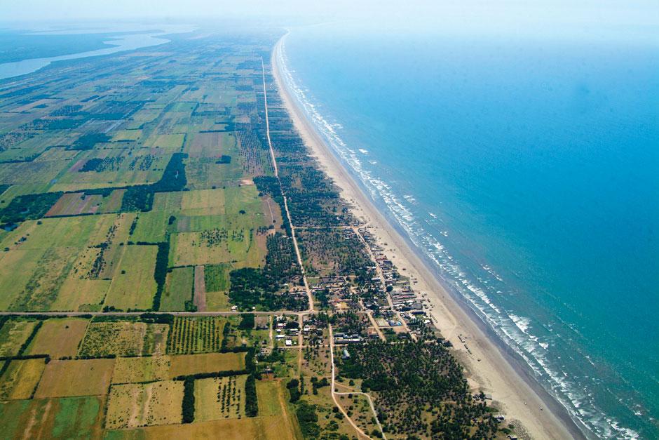 Así es Playa Novillero, la playa más grande de México Riviera Nayarit | Tu Gran Viaje
