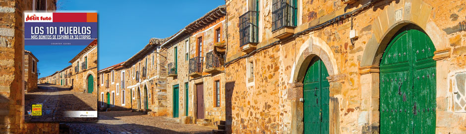 libro Los 101 pueblos más bonitos de España en 30 rutas escrito por Clemente Corona