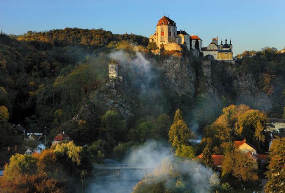 Castillo de Vranov nad Dyjí. Foto © Libor Sváček